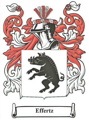 Effertz Family Coat of Arms